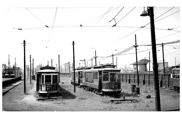 Canarsie Trolley Landing Yards Old Vintage Photos and Images