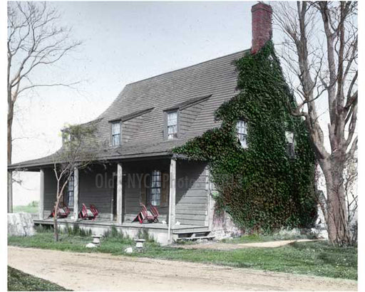 Captain Nicholas Schneck House - Mill Island 1920's Old Vintage Photos and Images