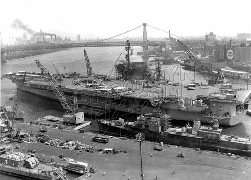 Carrier USS Constellation, 1961 Old Vintage Photos and Images