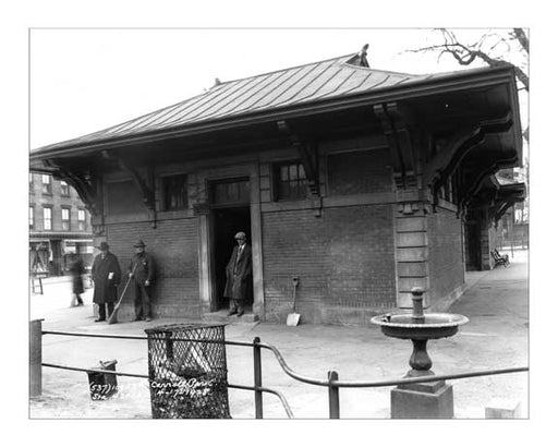Carroll Park Station  - Carroll Gardens - Brooklyn, NY 1928 A Old Vintage Photos and Images