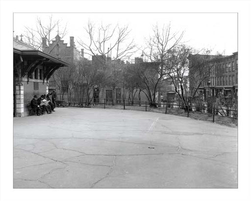 Carroll Park Station  - Carroll Gardens - Brooklyn, NY 1928 Old Vintage Photos and Images