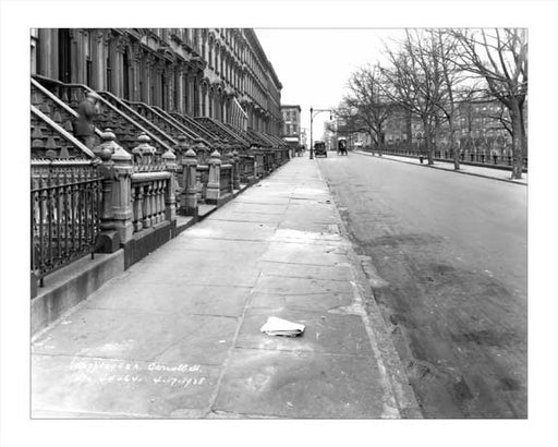 Carroll Street  - Carroll Gardens - Brooklyn, NY 1928 Old Vintage Photos and Images