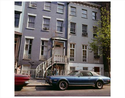 Cars on Street Greenwich Village Old Vintage Photos and Images