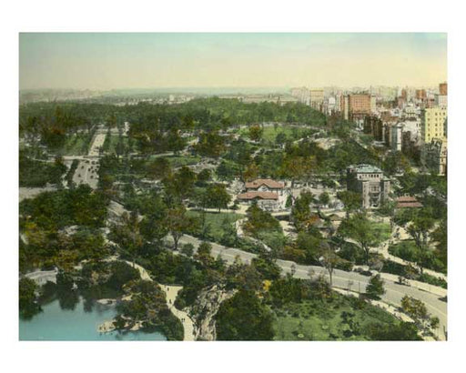 Central Park Mall & Zoo  - Fith Avenue - New York, NY Old Vintage Photos and Images