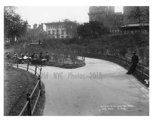 Central Park -  Manhattan - NY 1914 I Old Vintage Photos and Images