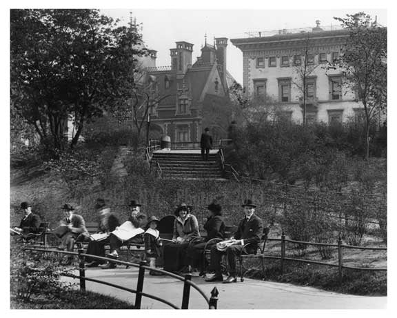 Central Park -  Manhattan - NY 1914 II Old Vintage Photos and Images