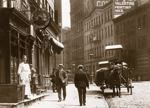 Centre St. north to Broome St. Manhattan 1907 Old Vintage Photos and Images