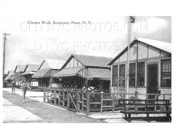 Chester Walk Breezy Point Rockaway Point 1925 Old Vintage Photos and Images