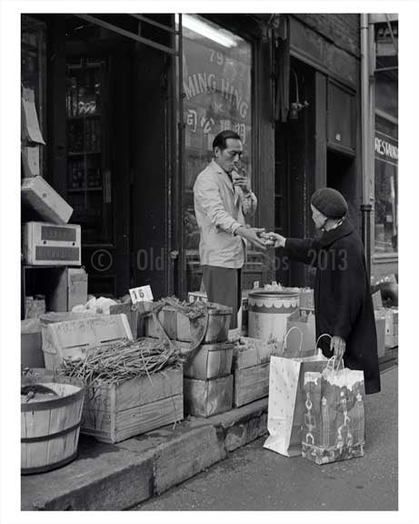 Chinatown Downtown Manhattan 1960 NYC A Old Vintage Photos and Images
