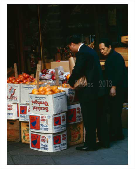 Chinatown Downtown Manhattan 1967 NYC B Old Vintage Photos and Images