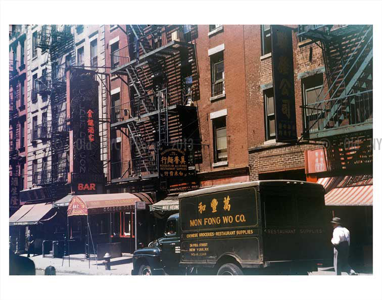 Chinatown May 1954 Old Vintage Photos and Images