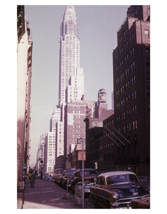 Chrysler Building - 405 Lexington Avenue (between 42nd & 43rd Streets) - Midtown Manhattan Old Vintage Photos and Images