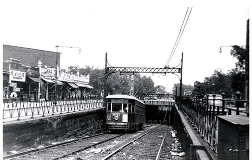 Church Ave & Ocean Parkway - Church Ave Line Old Vintage Photos and Images