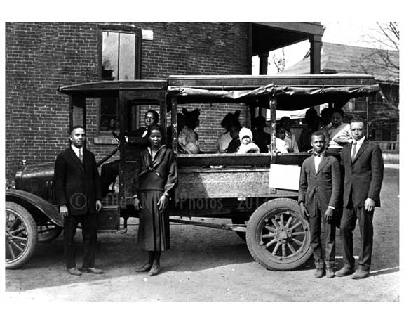 Church Van in the 1920's Old Vintage Photos and Images