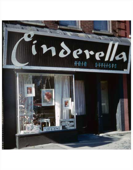 Cinderella Hair Salon Old Vintage Photos and Images
