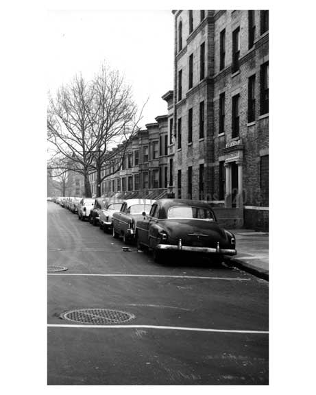 Classic Cars line the streets in this Brooklyn Neighborhood Old Vintage Photos and Images