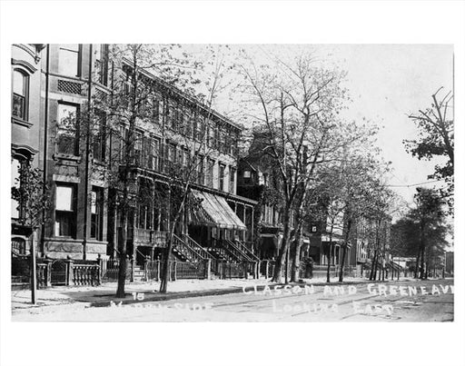 Classon & Greene Ave Old Vintage Photos and Images