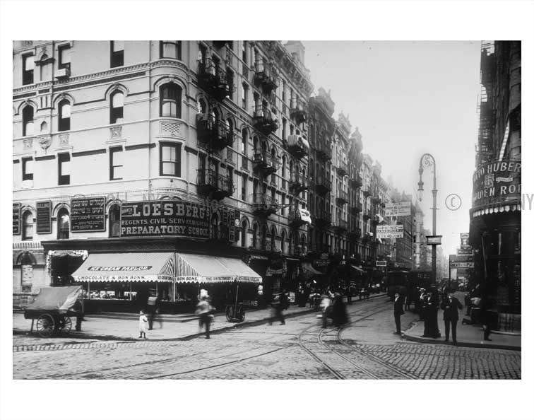 Clinton & Delancy St. Old Vintage Photos and Images