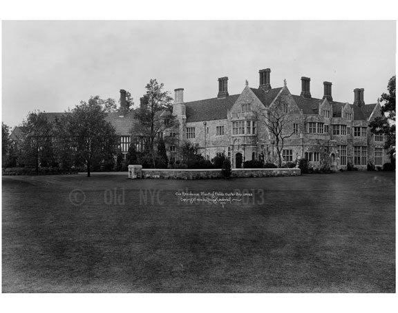 Coe Residence Planting Fields - Oyster Bay, L.I. 1920 Old Vintage Photos and Images