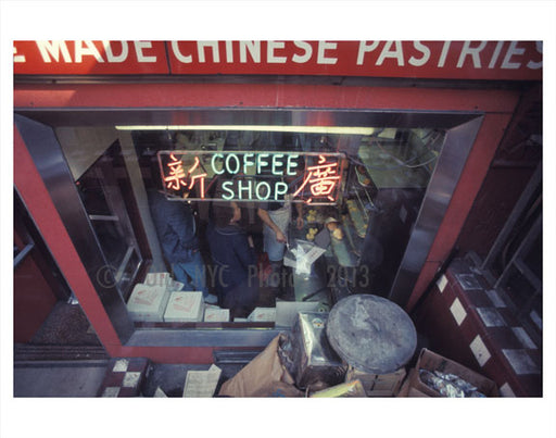 coffee shop Chinatown  Old Vintage Photos and Images