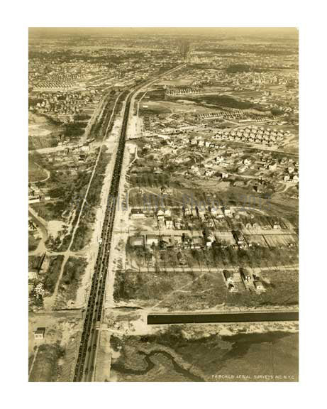Conduit Avenue 1931 - Ozone Park  -  Queens NY Old Vintage Photos and Images
