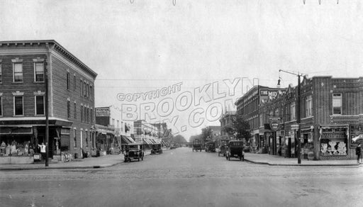 Coney Island Avenue and Avenue J looking east, 1922 Old Vintage Photos and Images