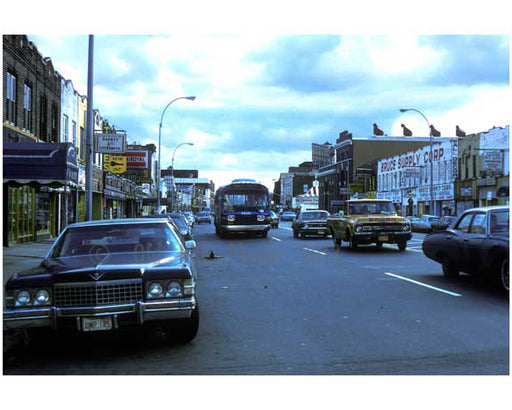 Coney Island Avenue looking south from Avenue P 1970s Old Vintage Photos and Images