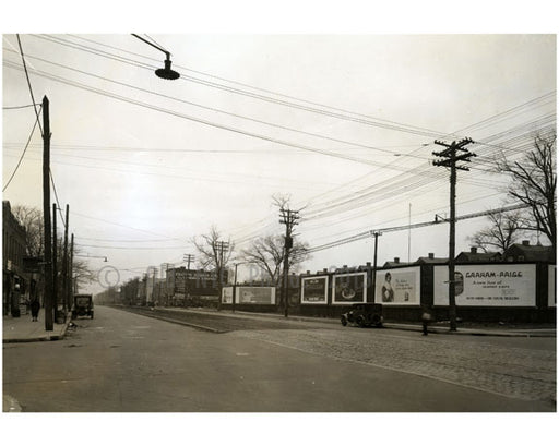 Coney Island Avenue, south of Avenue N, 1928 Old Vintage Photos and Images