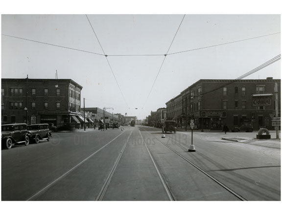Coney Island Avenue, south of Avenue P, 1930 Old Vintage Photos and Images