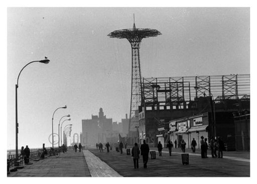 Coney Island boardwalk Old Vintage Photos and Images