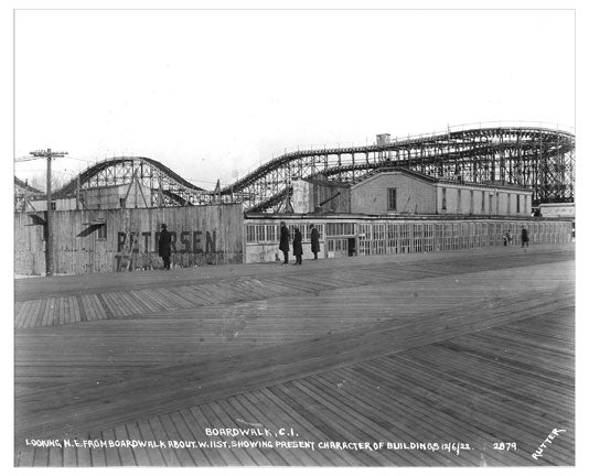 Coney Island Boardwalk Under Construction III
