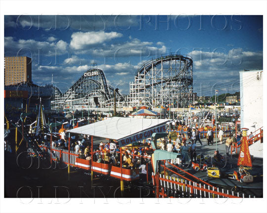 Coney Island Cyclone 1960s Old Vintage Photos and Images