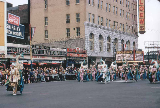 Coney Island Mardi Gras, predecessor of today's Mermaid Parade, 1954 Old Vintage Photos and Images