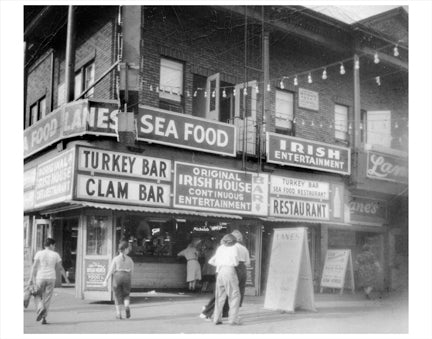 Coney Island Turkey Bar Old Vintage Photos and Images