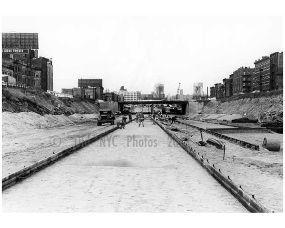 Construction of the Cross Bronx Expressway 1958 Old Vintage Photos and Images