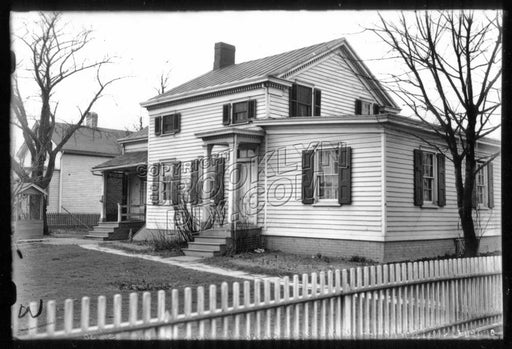 Cornelius Suydam House, Village Road North at Village Road East, 1930 Old Vintage Photos and Images