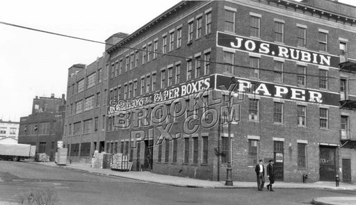 Corner of Banker and Messerole Streets, 1940s Brooklyn NY Old Vintage Photos and Images