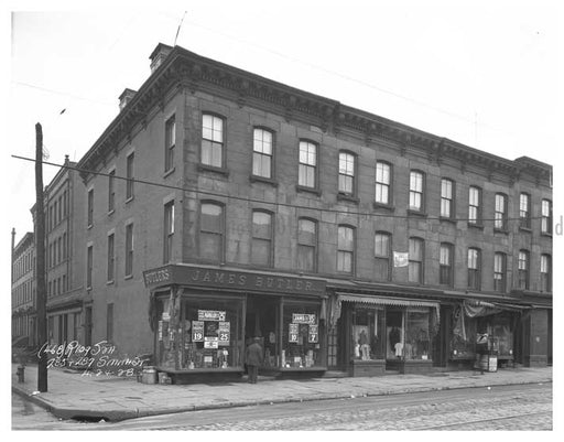 Corner of Smith St & Sackett Old Vintage Photos and Images