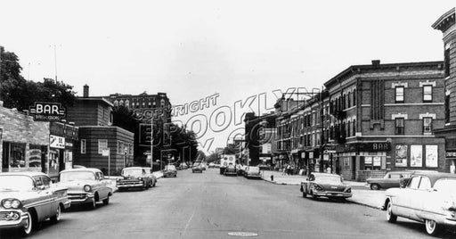 Cortelyou Road looking east to Stratford Road Old Vintage Photos and Images