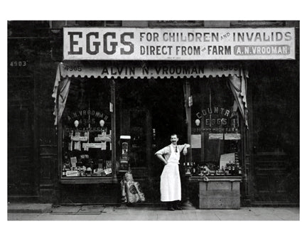 Country Eggs Store Sunset Park Old Vintage Photos and Images