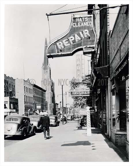 Court & Carroll Street 1939 Carroll Gardens Brooklyn NY Old Vintage Photos and Images