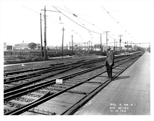 Courtelyou Rd station 1915 Old Vintage Photos and Images