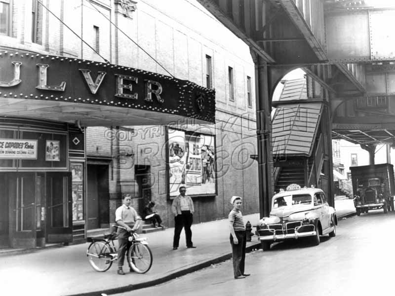 Culver Theater, northwest corner of MacDonald and 18th Avenues, 1943 Old Vintage Photos and Images