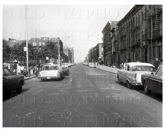 Dean Street east toward Howard Ave ground left Hebrew Orphan Asylum 1965 Old Vintage Photos and Images