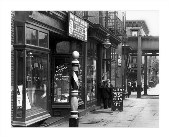 Dean Street west of 5th Avenue Old Vintage Photos and Images