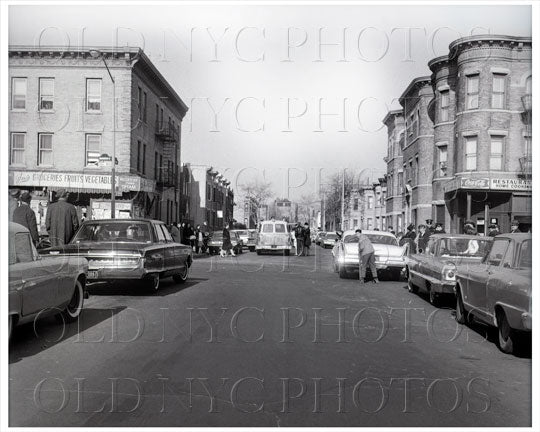 Decatur Street facing Knickerbocker Ave Bushwick 1965 Old Vintage Photos and Images