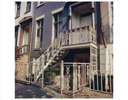 Decorative Iron Stairs Greenwich Village Old Vintage Photos and Images