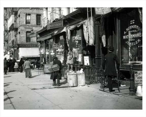 Delancey & Chrystie - 1908 NYC Old Vintage Photos and Images