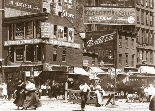 Delancey & Essex Sts. Manhattan 1908 Old Vintage Photos and Images