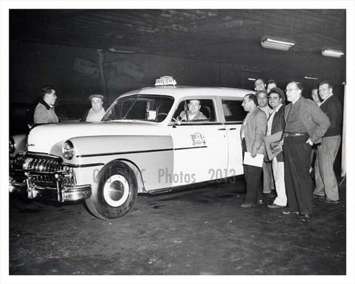 DeSoto Taxi Service Bronx NYC circa 1940s Old Vintage Photos and Images